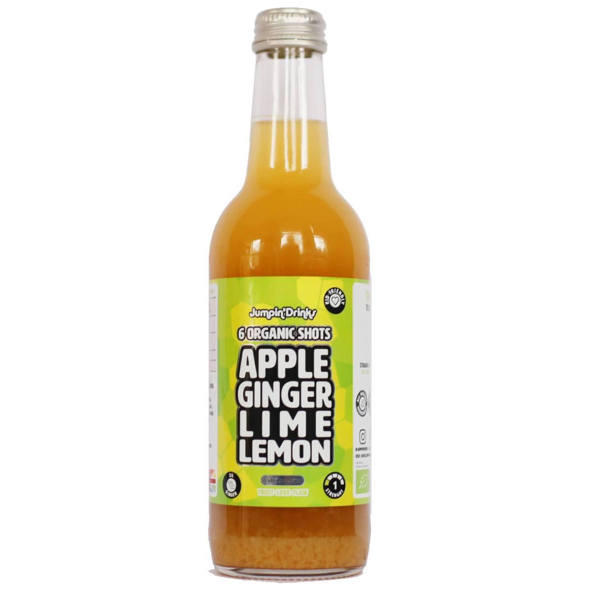 Ginger Beginner - Apple, Ginger, Lime, Lemon. - Ginger Shots