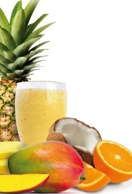 Tropical Yellow Smoothi Mix - 100% Organic Fresh Frozen Fruit