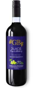Grape and Blueberry Juice
