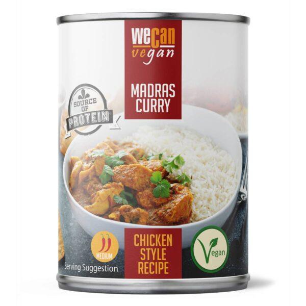 Vegan Madras Curry - Ready Made Meals