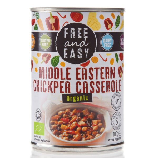 Vegan Ready Meals - Middle Eastern Chickpea Casserole (Organic)