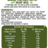 Vegetable Hotpot Ingredients and Nutritional Information