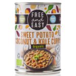 Free and Easy - Organic Sweet Potato, Coconut & Kale Curry