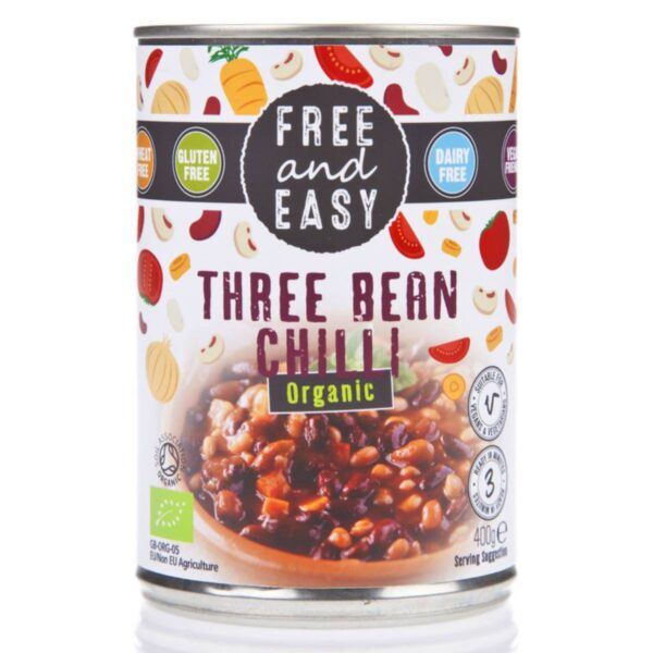 Free and Easy - 3 Bean Chilli