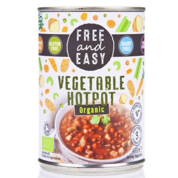 Organic Vegetable Hotpot - Free and Easy